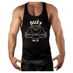 TANK TOP SUPER SLIM - DUŻY MIŚ
