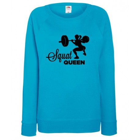 BLUZA DAMSKA FIT - SQUAT QUEEN
